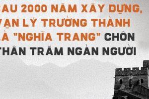Vạn Lý Trường Thành: Niềm kiêu hãnh ngàn năm của Trung Quốc bị chọc thủng thế nào?