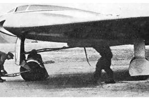 Cực choáng siêu máy bay không đuôi của phát xít Đức