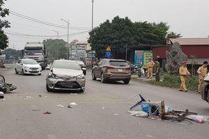 Vụ 'ô tô điên' gây tai nạn kinh hoàng ở Hải Dương: Lái xe uống rượu