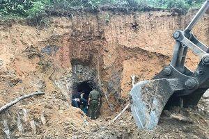 Thông tin chính thức vụ sập hầm mỏ khiến 3 người tử vong tại Nghệ An