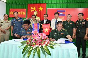 Hội đàm bảo vệ biên giới giữa BĐBP Tây Ninh và lực lượng vũ trang Campuchia