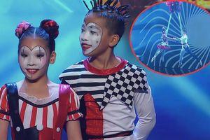 Vũ công nhí Việt gây sốt với màn đu dây mạo hiểm tại 'Asia's Got Talent'