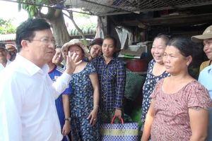 Phó thủ tướng Trịnh Đình Dũng: Cần giải quyết 'nút thắt' kênh Chợ Gạo