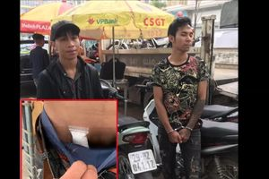 Phát hiện ma túy giấu trong vùng kín của thanh niên vi phạm giao thông
