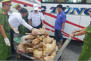 Hơn 220 kg thịt dê không rõ nguồn gốc vào Cần Thơ