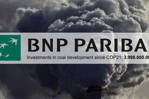 Ngân hàng Pháp sẽ không cho các công ty liên quan đến than vay tiền