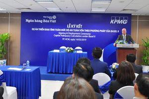 NH Bản Việt và KPMG ký hợp tác phương pháp triển khai tính toán mức độ an toàn vốn