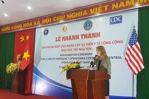 Hợp tác Việt-Mỹ: Khánh thành thêm 2 Trung tâm đáp ứng khẩn cấp sự kiện y tế công cộng EOC
