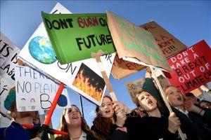 Khi giới trẻ hòa chung tiếng nói chống biến đổi khí hậu