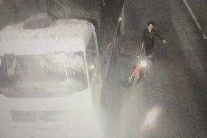 Truy tìm nhóm côn đồ cầm rựa tấn công xe tải trước hầm Phước Tượng