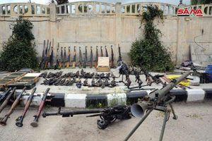 Quân đội Syria tiếp tục thu hoạch vũ khí trang bị của 'quân nổi dậy' ở Daraa