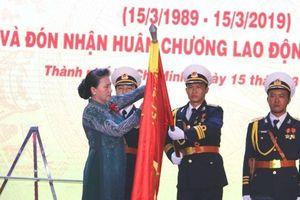 Tân cảng Sài Gòn đón nhận Huân chương Lao động hạng Nhất