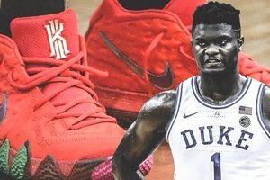 Zion Williamson vẫn sử dụng giày của Nike trong ngày trở lại