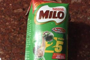 Hà Tĩnh: Sản phẩm sữa Milo Nestle bị trương phình dù còn hạn sử dụng
