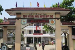 Hà Tĩnh: Một phó giám đốc bệnh viện chết trong tư thế treo cổ