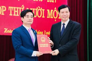 Quảng Ninh: Huyện Hoành Bồ nhất thể hóa Bí thư kiêm Chủ tịch UBND huyện