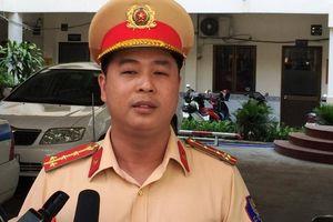 CSGT TP HCM đồng loạt ra quân xử phạt hành vi không thắt dây an toàn