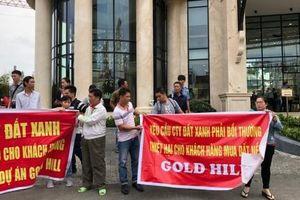 TP HCM: Mua đất nền 3 năm không được cấp sổ đỏ, hàng chục khách hàng tố Đất Xanh bội tín