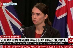 Xả súng ở New Zealand: Thủ tướng Ardern xác nhận 40 người thiệt mạng