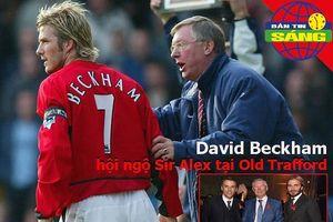 Beckham trở lại Old Trafford, MU thiệt thòi ở Champions League