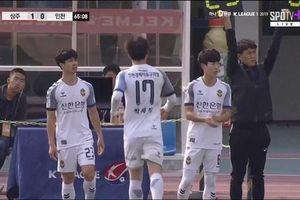 Highlights Sangju Sangmu vs Incheon United: Công Phượng ghi dấu ấn