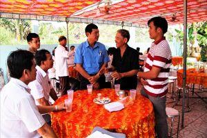 Sập công trình, 6 người chết: LĐLĐ tỉnh thăm và hỗ trợ các nạn nhân