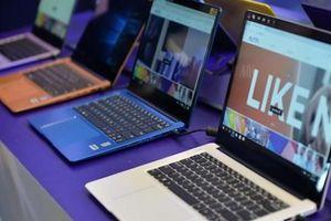 Dòng laptop mới đa sắc màu với họa tiết thời trang ở mặt lưng, pin 10 tiếng