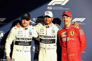 Lewis Hamilton lần thứ sáu liên tiếp giành pole tại Australian GP
