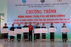 Hơn 1 tỷ đồng thực hiện chương trình 'Đồng hành cùng phụ nữ biên cương' tại tỉnh Gia Lai