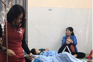 Thái Nguyên: 30 học sinh ngộ độc nghi uống sữa học đường Vinasoy