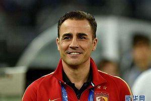Huyền thoại bóng đá Fabio Cannavaro trở thành HLV tuyển Trung Quốc