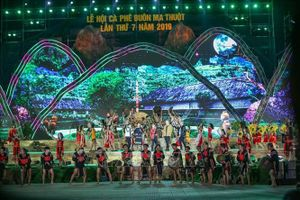 Bế mạc Lễ hội cà phê Buôn Ma Thuột lần 7 năm 2019