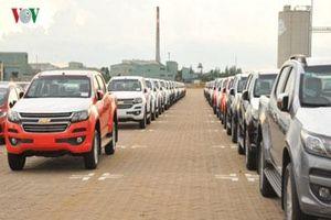 Ôtô Thái Lan và Indonesia lấn át thị trường xe nhập khẩu ở Việt Nam