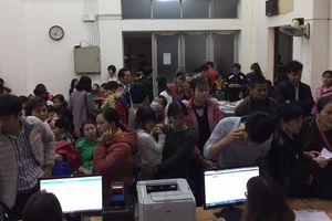 Hàng trăm gia đình ở Bắc Ninh tiếp tục đưa con đi xét nghiệm sán lợn