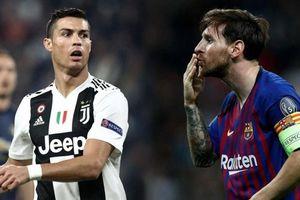 Ronaldo 'hít khói' Messi trong danh sách 'dội bom' ở Champions League