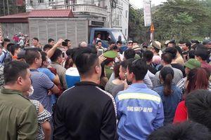 Thái Nguyên: Tập trung đông người phản đối thu phí qua trạm BOT Bờ Đậu
