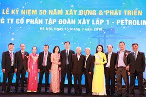 Công ty Cổ phần Tập đoàn Xây lắp 1 - Petrolimex: 50 năm kiên trì - sáng tạo - trách nhiệm