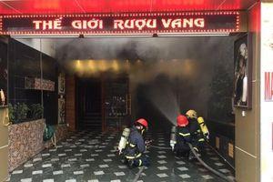 Cháy lớn trên đường Lạch Tray, Hải Phòng