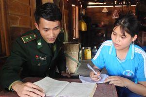 Người lính quân hàm xanh ở miền Tây Quảng Trị