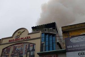 Cháy khu massage giữa trung tâm Hải Phòng, đã có một người chết