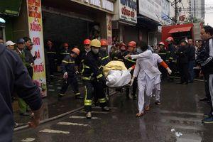Nữ nhân viên quán massage tử vong do ngạt khói trong đám cháy ở Hải Phòng