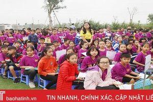 Gần 1.400 học sinh Hà Tĩnh hào hứng bước vào kỳ thi Toán quốc tế Kangaroo