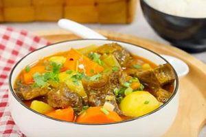 CLIP: Hướng dẫn cách làm món bò kho cà ri