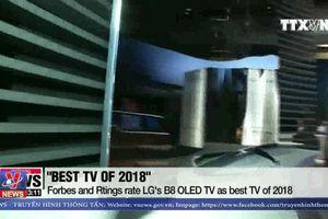 Hàn Quốc dẫn đầu thị trường màn hình toàn cầu
