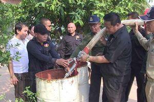 Campuchia kêu gọi Thái Lan hỗ trợ nước sạch cứu hạn khẩn cấp