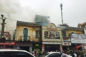 Hải Phòng: Cháy lớn tại khách sạn trên phố Lạch Tray, một người tử vong