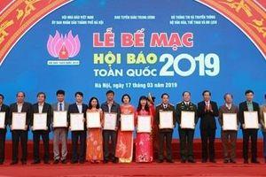 Bế mạc Hội Báo toàn quốc 2019: Tôn vinh các đơn vị báo chí