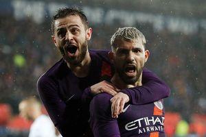 Aguero rực sáng, Man City vào bán kết FA Cup