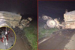 2 xe máy tông xe công nông, 3 người thương vong ở Hà Nam