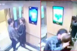 Phạt 200.000 đồng gã đàn ông cưỡng hôn nữ sinh trong thang máy ở Hà Nội